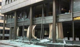 Verletzte bei Explosion in Regierungsviertel in Oslo (Foto)