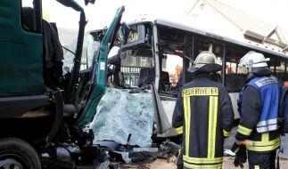 Verletzte Kinder bei Unfall (Foto)