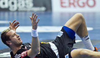 Verletzungen im Handball: Knie sind teuer (Foto)