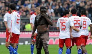 Verrückte Wette der Kapitäne vor Hamburger Derby (Foto)