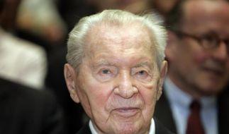 Versandhaus-Magnat Werner Otto gestorben (Foto)