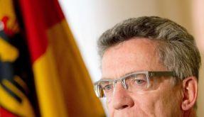 Verteidigungsminister de Maizière besucht Standort Mockrehna (Foto)
