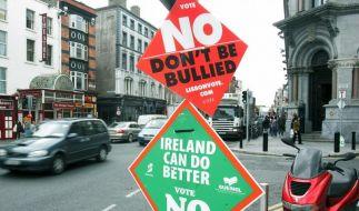 Vertrag von Lissabon: Neues Referendum in Irland? (Foto)