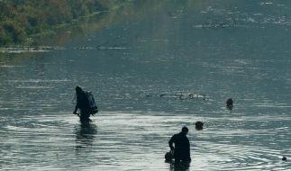 Verweste Leichenteile an Leipziger Fluss gefunden (Foto)