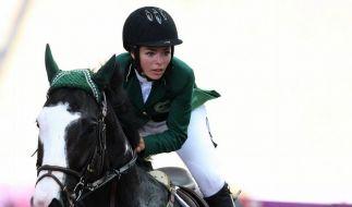 Verwirrung um Saudi Arabiens erste Frau bei Olympia (Foto)