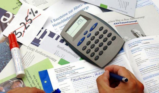 Verzinsung von Lebensversicherungen sinkt 2012 (Foto)