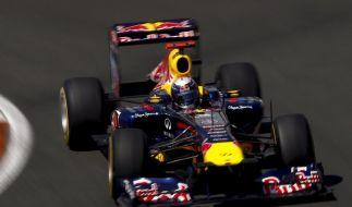 Vettel auch in Valencia auf Pole Position (Foto)
