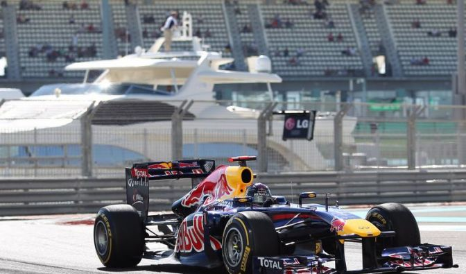 Vettel bedröppelt nach Crash - Hamilton Bester (Foto)