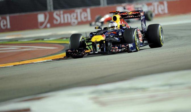 Vettel bereit für die Krönung: Pole in Singapur (Foto)