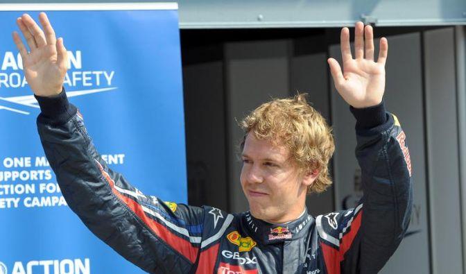 Vettel: «Ein ganz, ganz großer Tag für uns» (Foto)