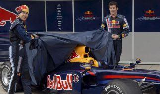 Vettel enthüllt neuen Rennwagen von Red Bull (Foto)