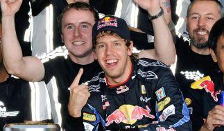 Vettel hat's in der Hand: Mit drei Siegen Champ (Foto)