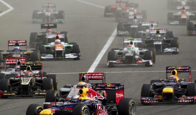 Vettel meldet sich im WM-Rennen zurück: Sieg in Bahrain (Foto)