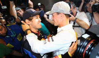 Vettel und Schumi (Foto)