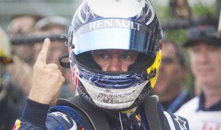 Vettel wieder auf Pole - Ferrari-Duo im Nacken (Foto)
