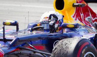 Vettel will Juli-Fluch brechen - Schumacher im Aufwind (Foto)