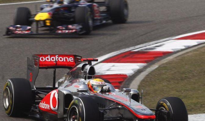 Vettel Zweiter in Shanghai - Hamilton gewinnt (Foto)