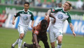 VfLWolfsburg - FC St. Pauli (Foto)