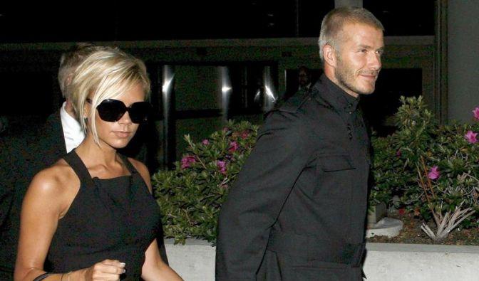 Victoria und David Beckham (Foto)