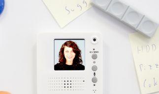 Video-Kühlschrankmagnet (Foto)