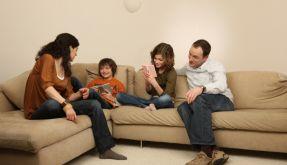 Videospielen mit Kindern (Foto)