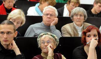 Viele Alte fühlen sich jung (Foto)