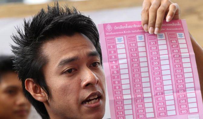 Viele Beschwerden wegen Wahlbetrugs in Thailand (Foto)