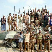 Viele Konflikte: Jemenitische Soldaten in der Provinz Saada.