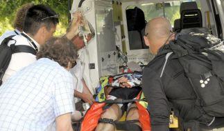 Viele Sorgen um Jens Voigt, der per Helikopter ins Krankenhaus kam. (Foto)