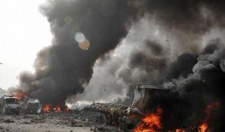 Viele Tote bei Anschlag auf Foltergefängnis in Damaskus (Foto)