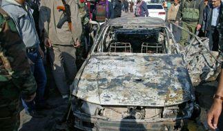 Viele Tote bei Bombenexplosionen in Damaskus (Foto)