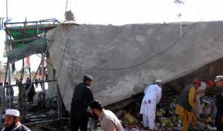 Viele Tote bei Selbstmordanschlag in Pakistan (Foto)