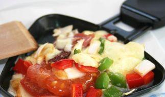 Vielfältiges Raclette: Nicht nur mit Gemüse (Foto)