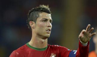 Viertelfinale bei der EM 2012: Setzt sich Ronaldo mit Portugal gegen Tschechien durch? (Foto)