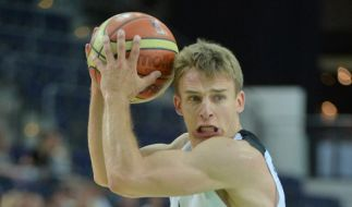 Vierter Sieg: Deutsche Basketballer halten EM-Kurs (Foto)