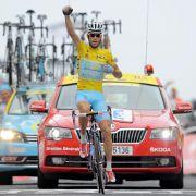 Vierter Tagessieg: Nibali triumphiert wie einst Pantani (Foto)