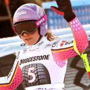 Viktoria Rebensburg misslingt WM-Generalprobe im Riesenslalom (Foto)