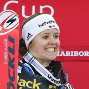 Lindsey Vonn verliert! Viktoria Rebensburg mit Podest-Doppel (Foto)