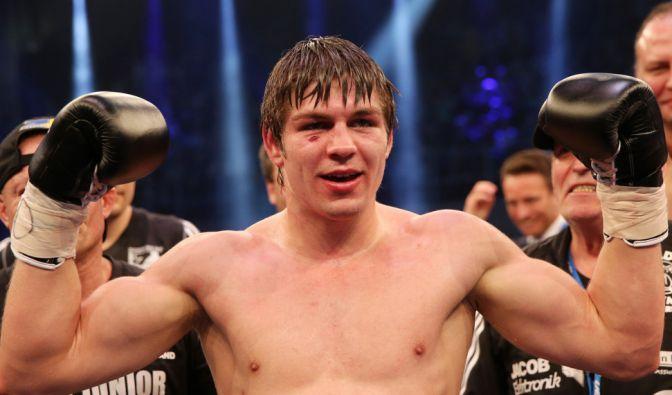 Vincent Feigenbutz könnte sich zum jüngsten deutschen Box-Weltmeister küren. (Foto)