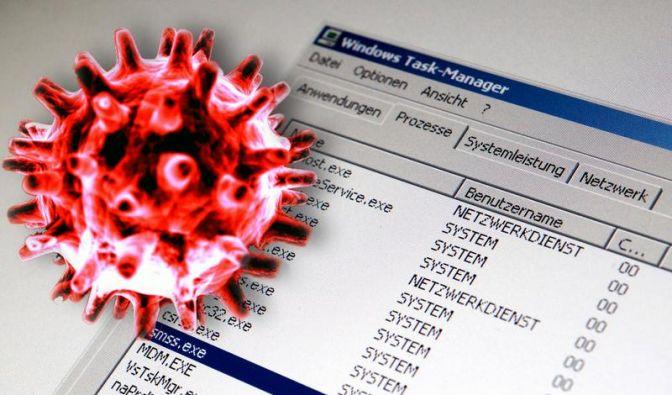 Viren und Trojaner werden immer professioneller und unauffälliger. (Foto)