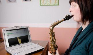 Virtuelle Lehrer für Hobbymusiker auf der Frankfurter Musikmesse (Foto)