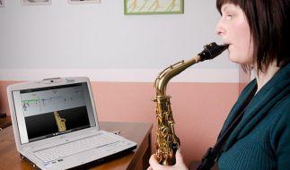 Virtuelle Musiklehrer auf der Frankfurter Musikmesse (Foto)