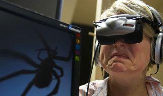 Virtuelle Spinnen - Neue Angsttherapie am Computer (Foto)
