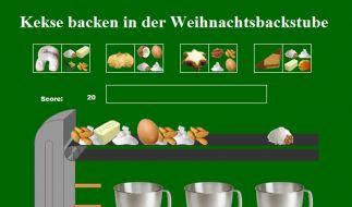 Virtuelle Weihnachtsbäckerei (Foto)