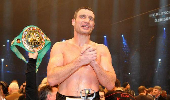 Vitali Klitschko will vor der Fußball-EM wieder boxen (Foto)