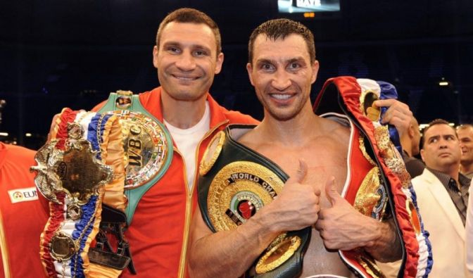 Vitali und Wladimir Klitschko (Foto)