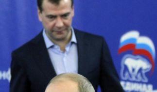 Vladimir Putin, Dmitry Medvedev (Foto)