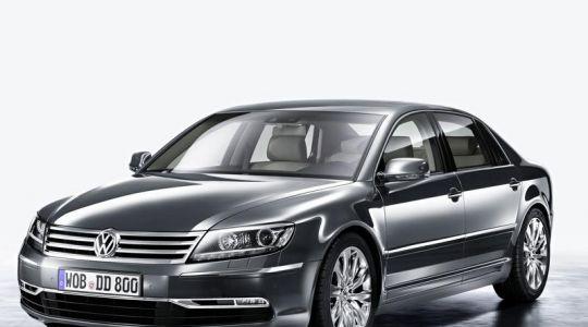 Volkswagen überarbeitet den Phaeton (Foto)