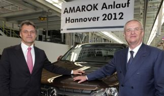 Volkswagens Pick-up Amarok jetzt auch in Hannover (Foto)