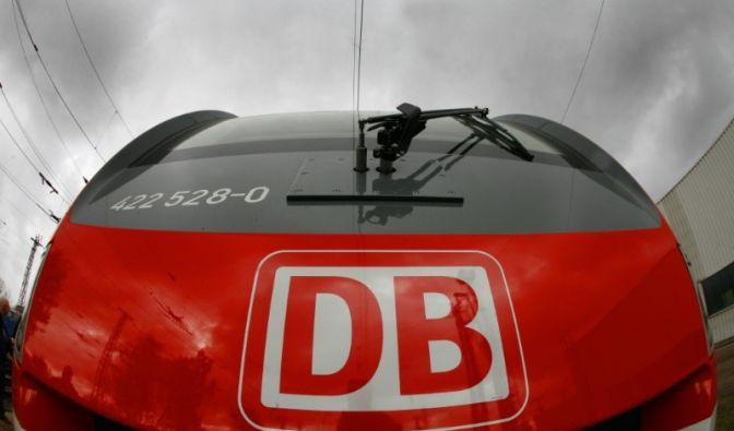 Vollbremsung Bahn (Foto)